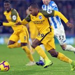 José Izquierdo Huddersfield Town 1-2 Brighton & Hove Albion Premier League 2018-19