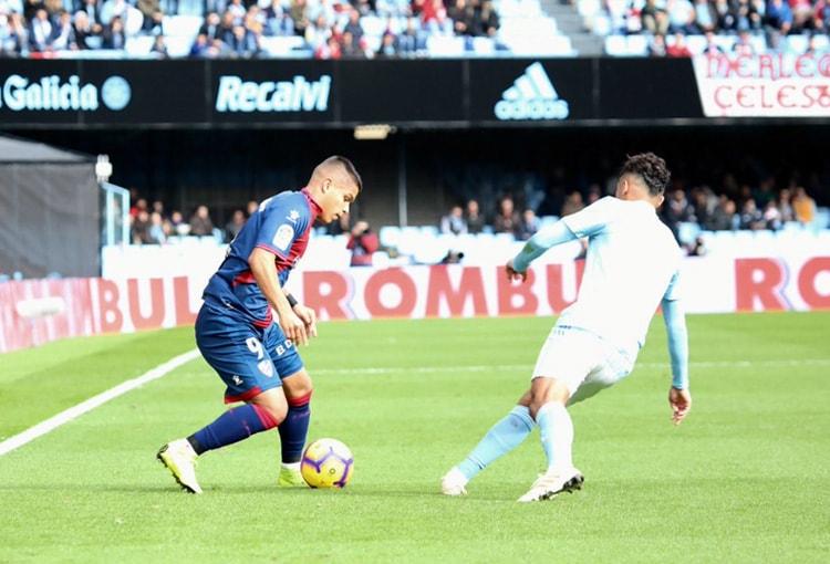 Juan Camilo Hernández RC Celta SD Huesca LaLiga 2018-19