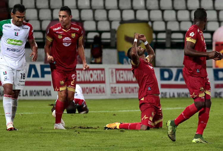 Once Caldas 1-1 Rionegro Águilas Liga Águila 2018-II 1