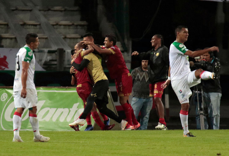 Once Caldas 1-1 Rionegro Águilas Liga Águila 2018-II