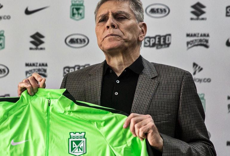Paulo Autuori Atlético Nacional Liga Águila 2018-II