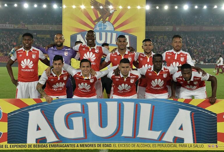Róbinson Zapata Santa Fe 1–2 Tolima Liga Águila 2018-II