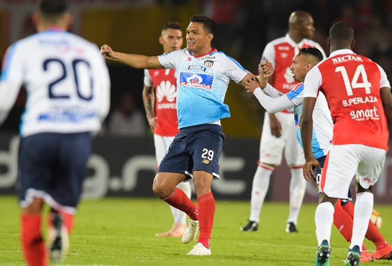 Santa Fe 0 – Junior 2 Copa Sudamericana 2018 (1)