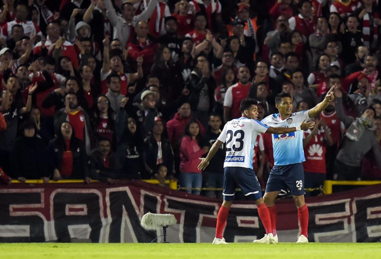 Santa Fe 0 – Junior 2 Copa Sudamericana 2018 (2)