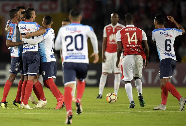 Santa Fe 0 – Junior 2 Copa Sudamericana 2018 (3)