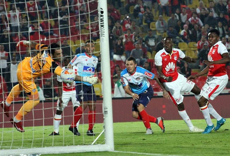 Santa Fe 1 – Junior 1 Liga Águila 2018-II