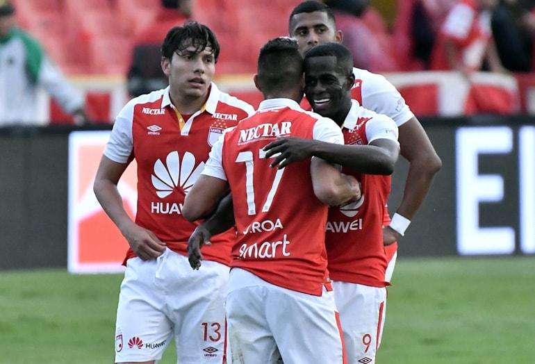 Santa Fe 3 – Tolima 0 Liga Águila 2018-II
