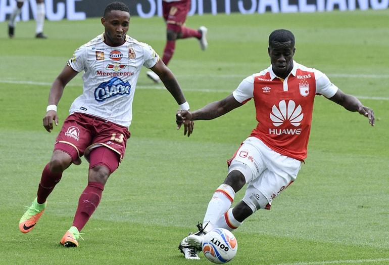 Santa Fe 3-0 Tolima Liga Águila 2018-II
