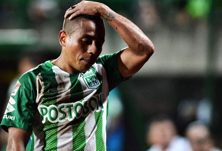 Vladimir Hernández Atlético Nacional Tabla de reclasificación 2018