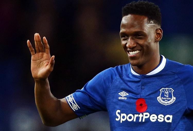 Yerry Mina, Everton, Premier League 2018-19