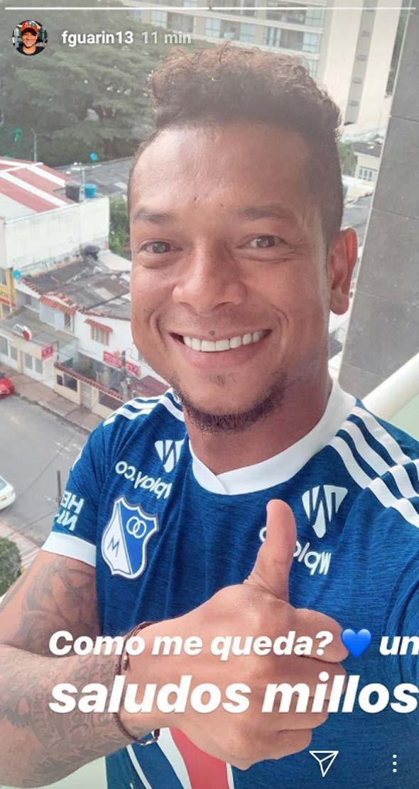 Fredy Guarín Millonarios