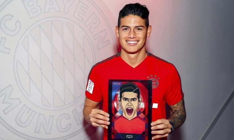 Esguince ligamento rodilla izquierda — Lesión James Rodríguez