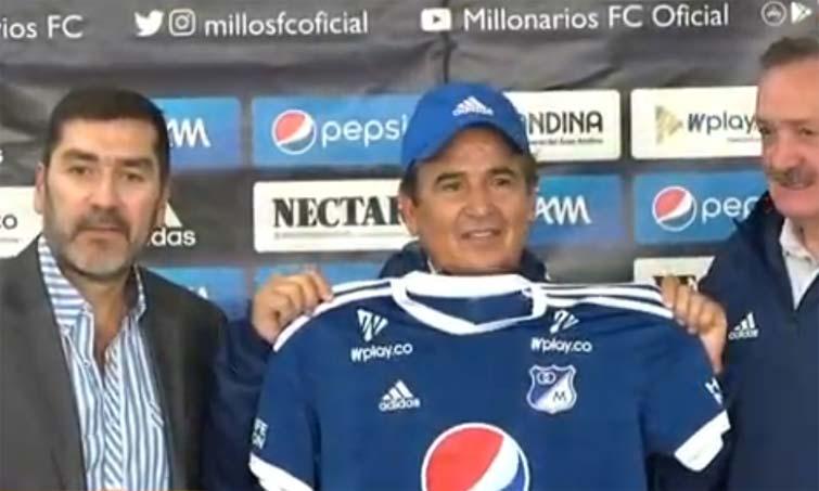 Jorge Luis Pinto Millonarios