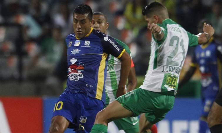 Luis Chicaiza Atlético Nacional