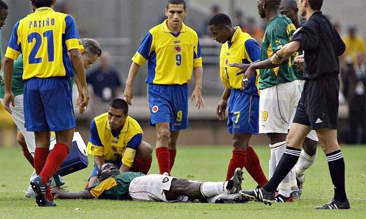 Marc-Vivien Foe Selección Colombia