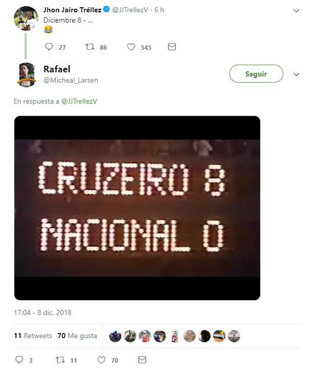 Burla Jhon Jairo Tréllez Millonarios FC