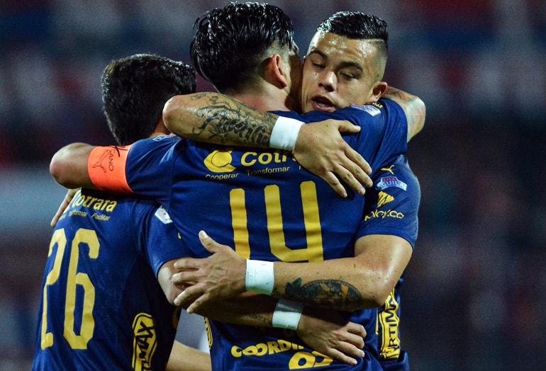 Germán Cano y Leonardo Castro Deportivo Independiente Medellín Liga Águila 2018-II