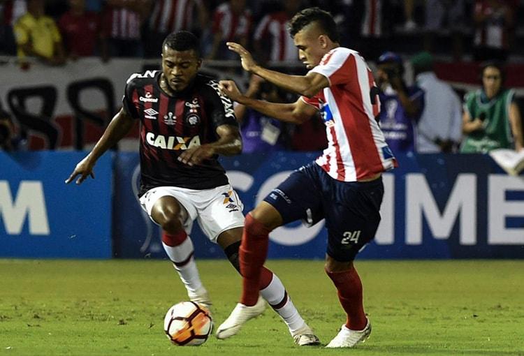 Junior FC 1-1 Atlético Paranaense Copa Sudamericana 2018