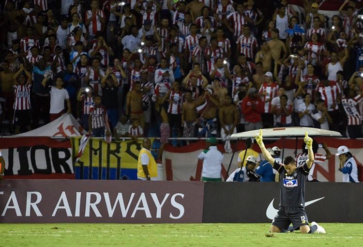 Junior FC estadio Metropolitano Roberto Meléndez Copa Sudamericana 2018