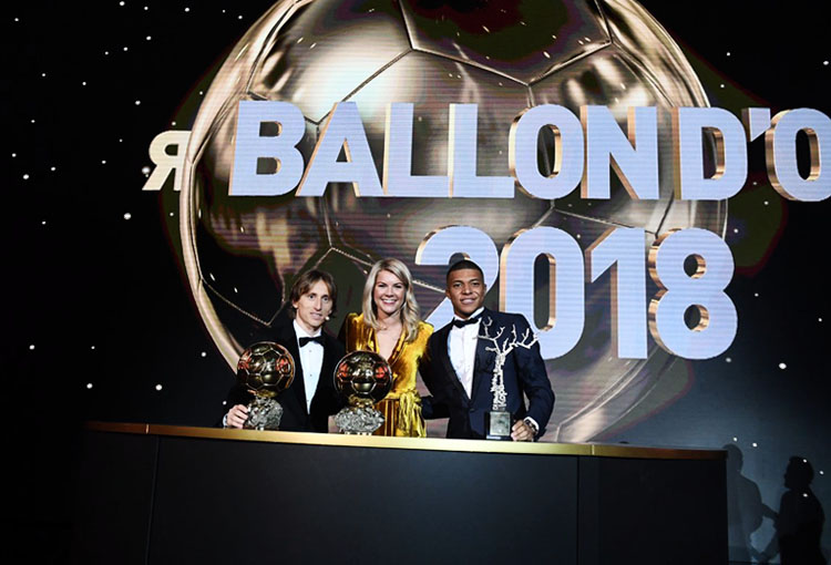Luka Modrić Balón de Oro 2018 1