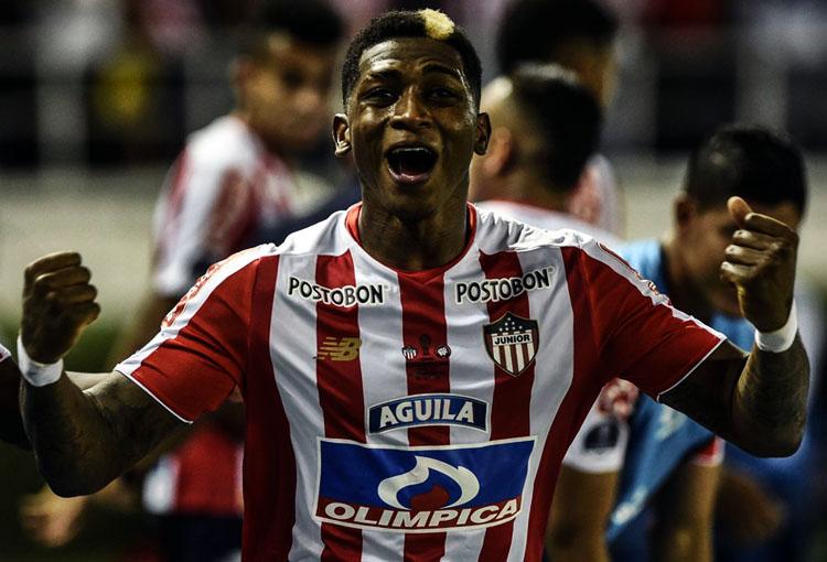 Yony González Junior FC 1-1 Atlético Paranaense Copa Sudamericana 2018