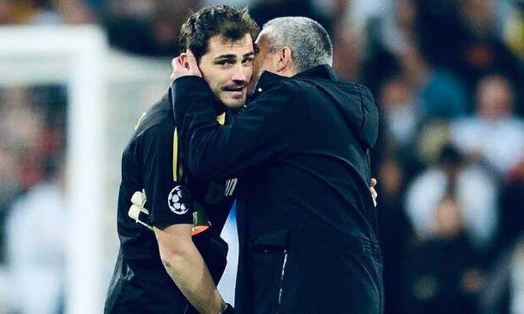 Íker Casillas José Mourinho