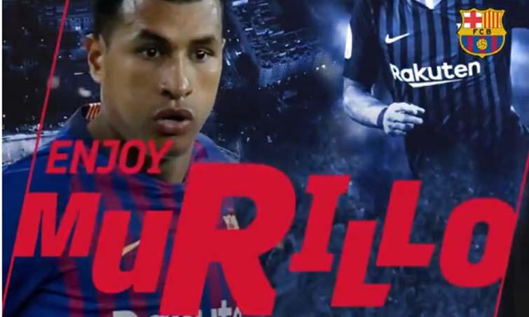 ¡Ya es oficial sobre Jeison Murillo, el Valencia y el Barcelona!