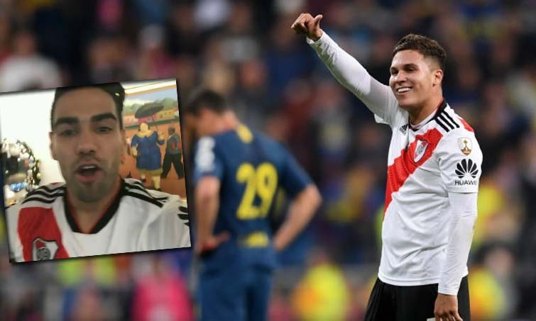 Falcao Quintero River Plate