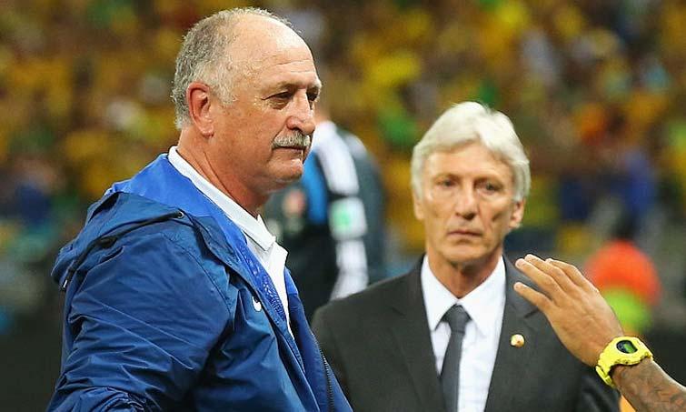 Scolari Selección Colombia