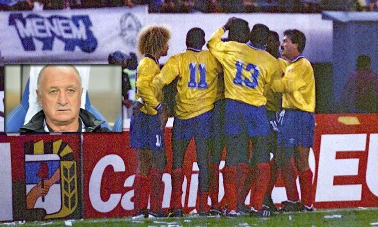 Selección Colombia Luiz Felipe Scolari