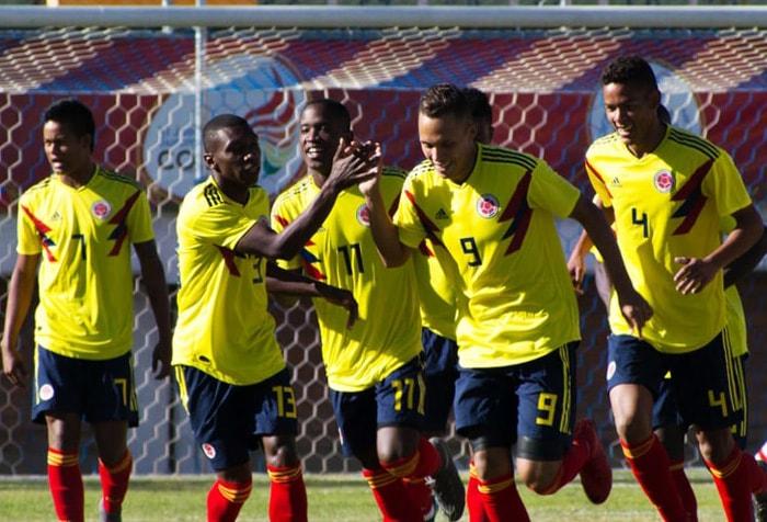 Rivaldo Correa Categoría sub-20 Selección Colombia