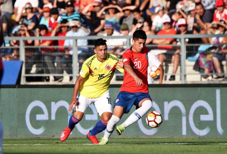 Chile 0-1 Colombia Sudamericano Sub-20 Chile 2019