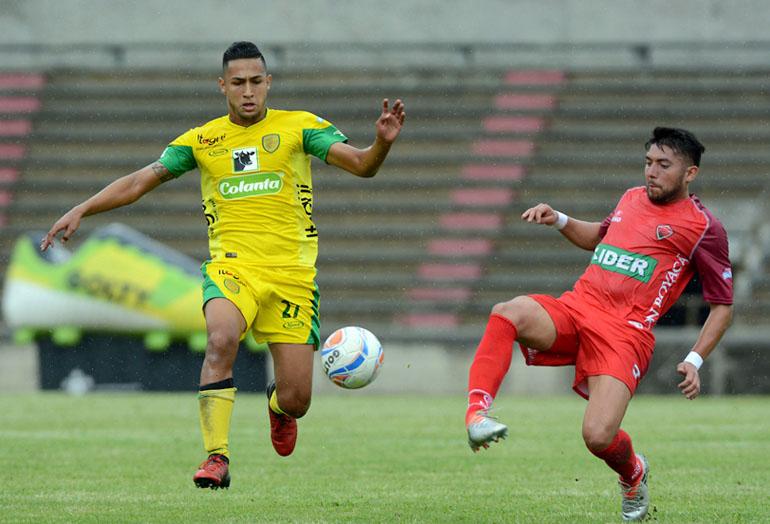 Jeison Medina Itagüí-Leones FC Liga Águila 2018-1