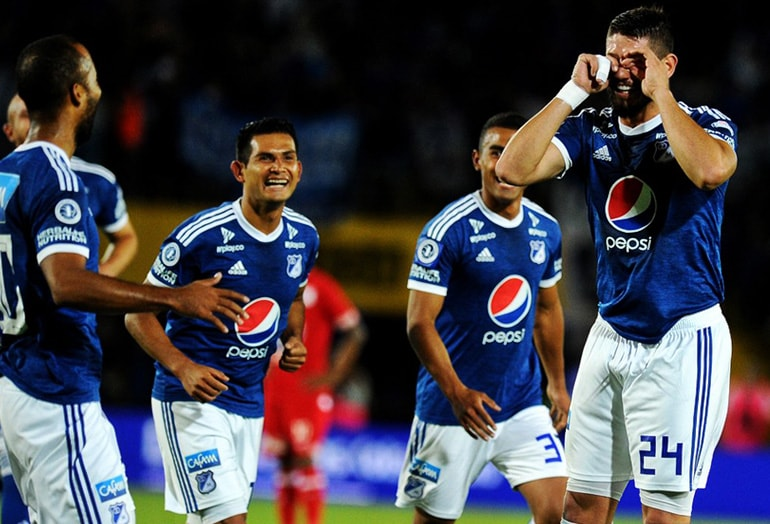 Matías de los Santos Millonarios 2-1 América Torneo Fox Sports 2019