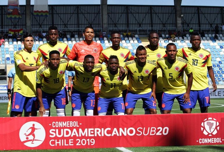 Selección Colombia Campeonato Sudamericano Sub-20 Chile 2019
