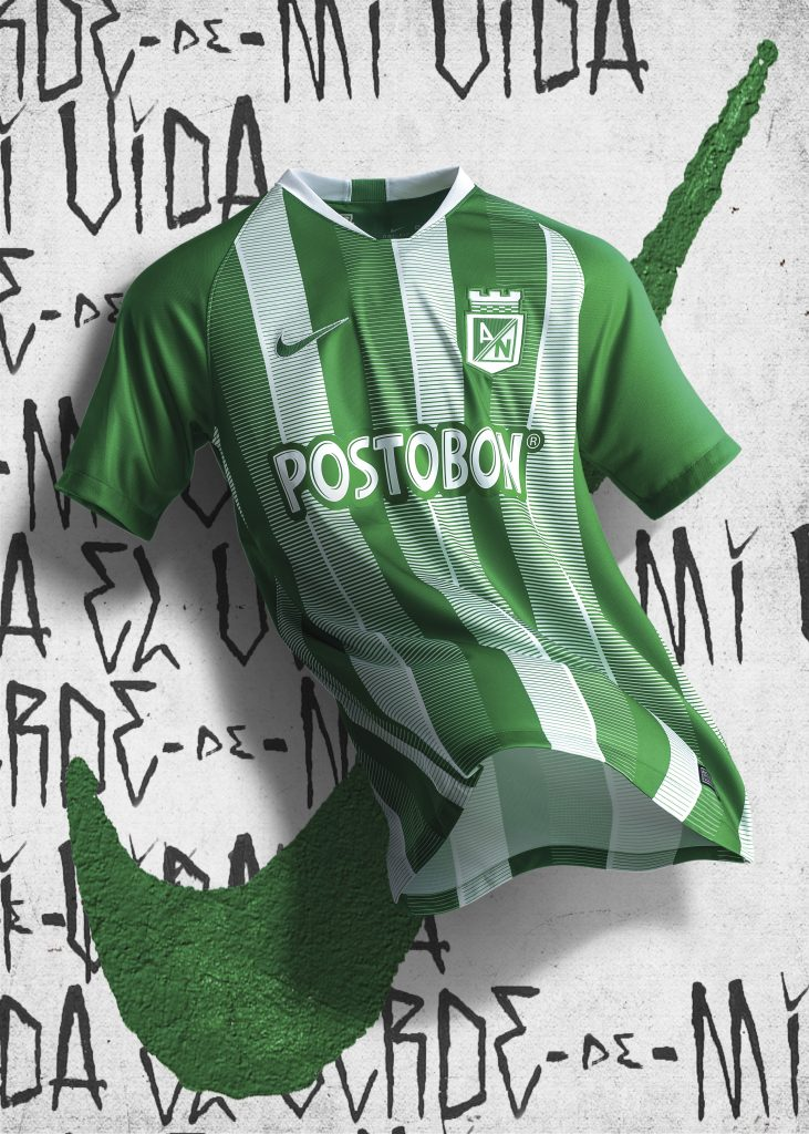 81663f2179c4b Nueva camiseta Nike de Atlético Nacional 2019