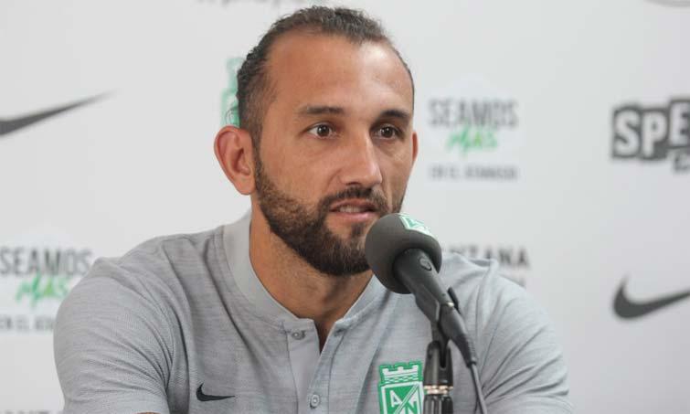 Hernán Barcos Atlético Nacional