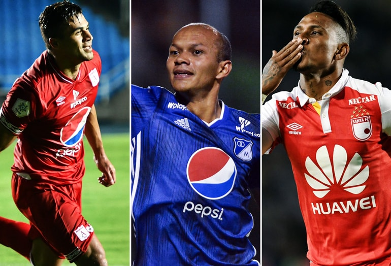 América, Millonarios, Santa Fe, Copa Águila 2019