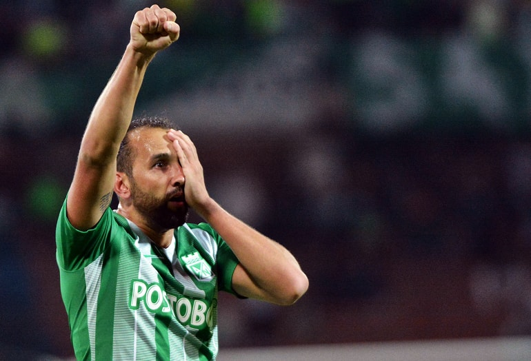 Hernán Barcos Nacional 1-1 Equidad Liga Águila 2019-1