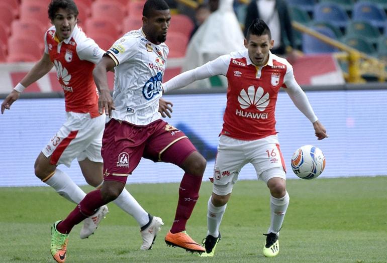 Jorge Aguirre Santa Fe – Tolima Liga Águila 2018-2
