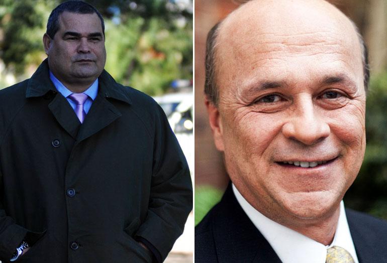 José Luis Chilavert y Carlos Antonio Vélez