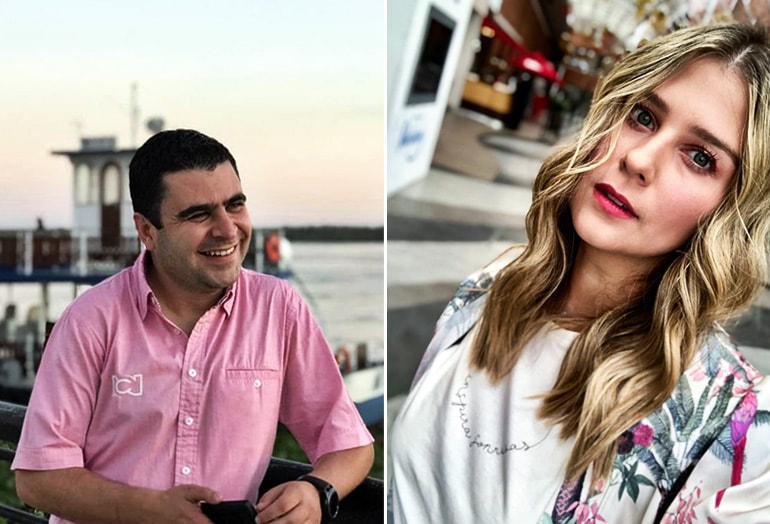 Juan Felipe Cadavid y Andrea Guerrero