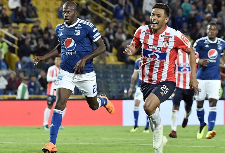 Millonarios – Junior Liga Águila 2018–2