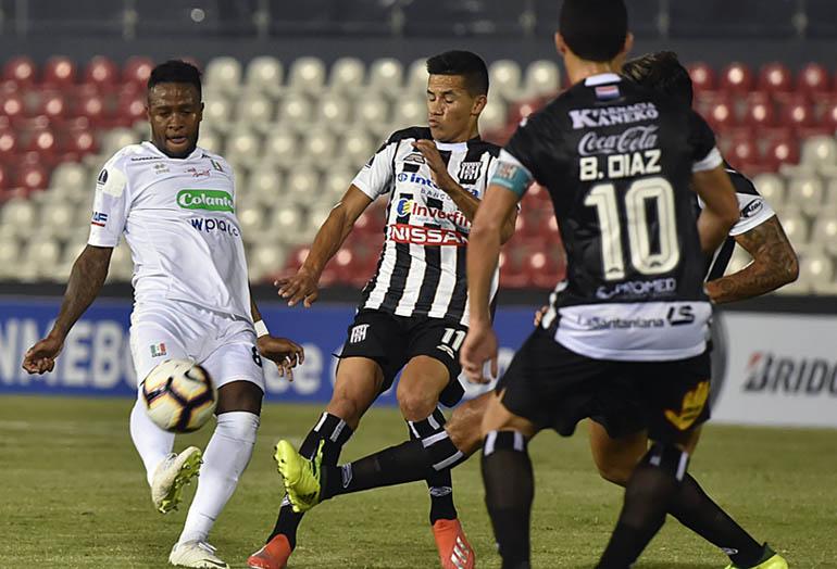 Santaní 1-1 Once Caldas Conmebol Sudamericana 2019