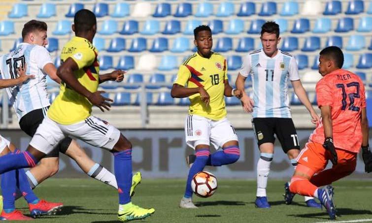 Sosa resaltó en el 11 ideal del Sudamericano Sub-20