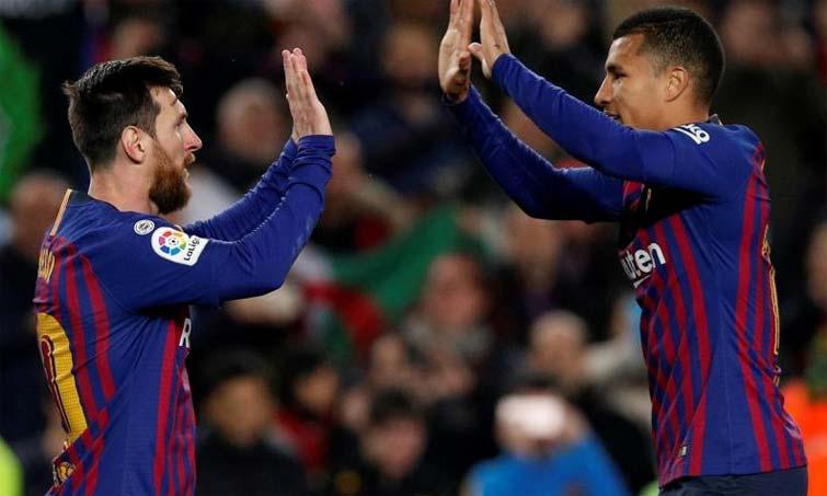 Lionel Messi Jeison Murillo Barcelona