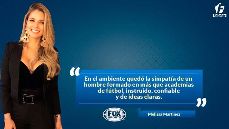 Melissa Martínez Carlos Queiroz