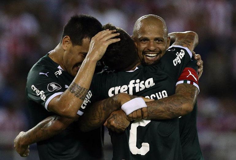 Felipe Melo Junior FC 0–2 SE Palmeiras Copa Libertadores 2019