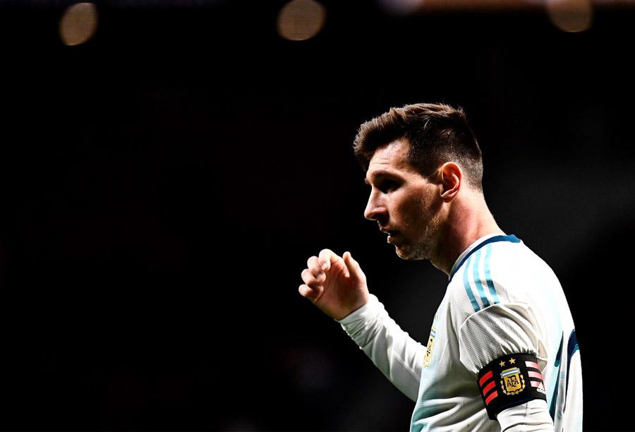 Lionel Messi Argentina 1–3 Venezuela Fecha FIFA