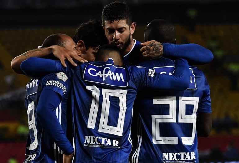 Millonarios 4–0 Unión Magdalena Liga Águila 2019–1
